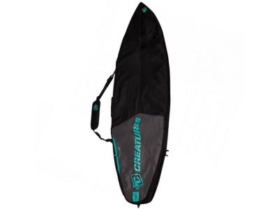 CS Boardbag Shorboard Day char/black - 6'0