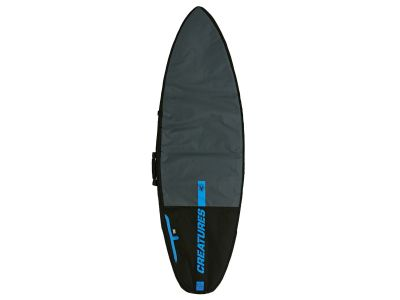 CS Boardbag Shorboard Day char/black - 7'1