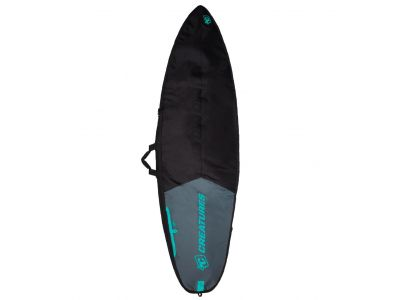 CS Boardbag Shorboard Day char/black - 6'7
