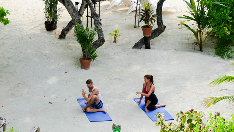 Yoga-retreat i Maldiverna